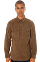 Men's The Stockholm Buttondown Shirt in Coffee, Bu