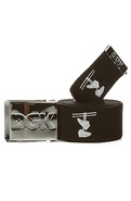 Men's The Iconic Belt in Black, Belts
