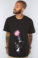 Men's The Space Smoke Tee in Black, T-shirts