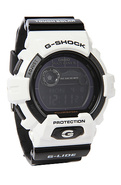 Men's The GWX 8900 Watch in White & Black, Watches