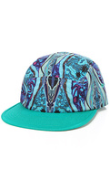 Men's The Cosby Camper Cap in Green Multi, Hats
