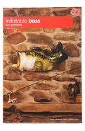 Unisex&#39;s The Inflatable Bass, Housewares