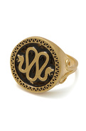 Men's The Mr. Serpent Ring in Antique Gold, Jewelr