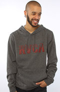 Men&#39;s The Vintage RVCA Hoody in Charcoal Heather, 