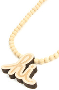 Men's The Good Wood x IN4M Hi Necklace, Jewelry