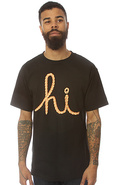 Men's The Hi Rope Tee in Black, T-shirts
