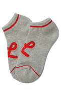 Men's The One Stripe No Show Socks in Ash Heather,
