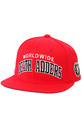 Men's The DA Varsity Starter Snapback in Red, Hats