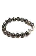 Men&#39;s The Gemstone Bracelet in Cement, Jewelry