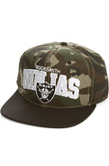 Men's The Bold Ninja Snapback in Camo, Hats