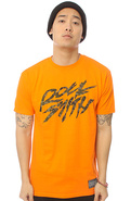 Men's The Camo Daft Tee in Orange, T-shirts
