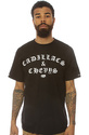 Men's The Cadi & Chev Tee in Black, T-shirts