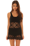 Women's The Boardwalk Dress in Black, Dresses