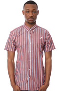 Men's The Milsap Buttondown Shirt in Red, Buttondo