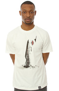 Men's The Deezeetee Boys Tee in White, T-shirts
