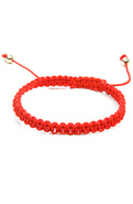 Men&#39;s The Knot Bracelet in Red, Jewelry