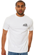 Men's The Ride Tee in White, T-shirts