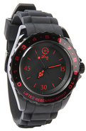 Men's The Longitude Watch in Black & Red, Watches
