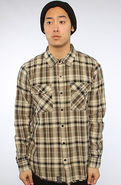 Men's The Regiment Buttondown in Black, Buttondown