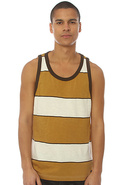 Men's The Stringer Tank Top in Natural, Tank Tops