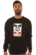 Men's The OG Face Crewneck Sweatshirt in Black, Sw