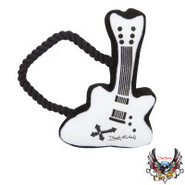 Bret Michaels Pets Rock  Plush Guitar Toy w/Rope