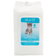 Whisker City Kitten &amp; Cat Gentle Wipes