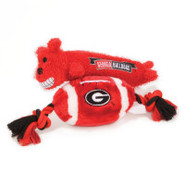 Pets First Georgia Bulldogs Plush Collegiate Dog T