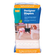 Top Paw Designer Diapers for Dogs