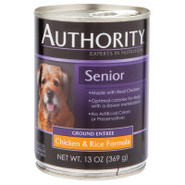 Authority Senior Canned Dog Food