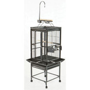 A&E Play Top Cage in Black