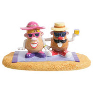 Top Fin&reg Hasbro Mr. Potato Head Sunbathing Aqua