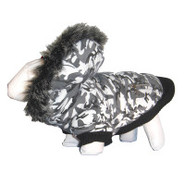 Pet Life Chamo SkI Parka Dog Coat
