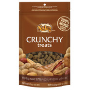 NUTRO Crunchy Treats with Real Peanut Butter