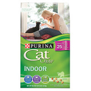 Purina Cat Chow brand cat food INDOOR FORMULA