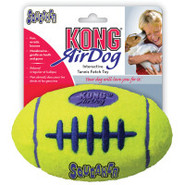KONG&reg AirDog&reg Football Squeaker Tennis Dog T