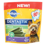 Pedigree Dentastix Fresh Flavor Minis 21 ct