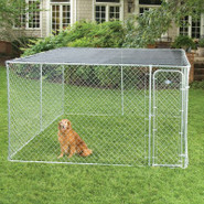 Fencemaster 10&#39; x 10&#39; SunBlock Kennel Top