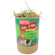 Kaytee Tube O' Hay Plus Carrots Foraging Treats fo