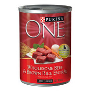Purina ONE Wholesome Beef & Brown Rice Entre Dog F