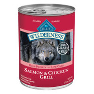 BLUE Wilderness Grain-Free Salmon &amp; Chicken Grill 