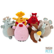 Martha Stewart Pets Crochet Squeak Toy