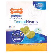 Nylabone Advanced Oral Care DentalHearts Dog Chews