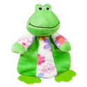 ToyShoppe&amp;reg Frog/Duck Teether Dog Toys