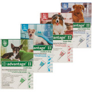 Advantage II  For Dogs - 4 Pack