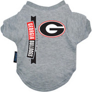 Georgia Bulldogs Logo Pet T-Shirt