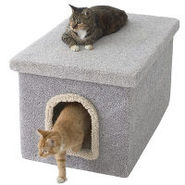 Miller's Cats Litter Box Enclosure