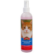 Grreat Choice(tm) Waterless Spray Shampoo for Cats