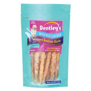Dentley's Wrapped Rawhide Sticks w/Real Chicken