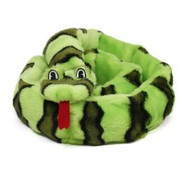 Plush Puppies Ginormous Invincible Snake Dog Toy